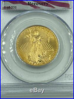 2001 $25 1/2 oz 1 of 531 911 AMERICAN GOLD EAGLE WTC GROUND ZERO RECOVERY