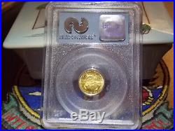 2001 $5 1 of 531 Gold Eagle PCGS WTC World Trade Center 911 recovery