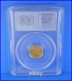2001 $5 Gold Eagle WTC Ground Zero Recovery 1 of 531 Certified PCGS Coin 1/10 oz