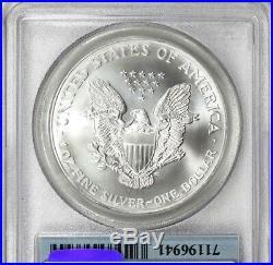 2001 911 American Silver Eagle Wtc Ground Zero Recovery Pcgs Ms68 Rare