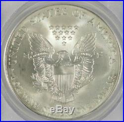 2001 American Silver Eagle $1 PCGS Gem Uncirculated WTC Ground Zero Recovery