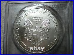 2001 American Silver Eagle World Trade Center 911 Recovery Coin September 11