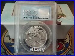 2001 MS69 $100 Platinum Eagle PCGS WTC World Trade Center 911