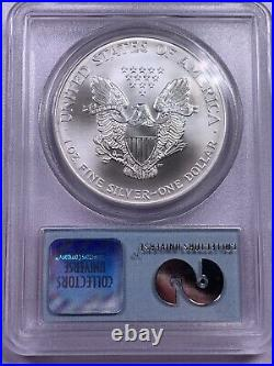 2001 PCGS Gem Uncirculated Silver Eagle WTC Recovery 9/11 Ground Recovery #4