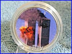 2001 Pcgs Ms69 Wtc Ground Zero Recovery Silver Eagle & 2 Memorial Silver Eagles