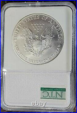 2001 Silver Eagle Dollar 1ozt. 999 WTC 9/11 Ground Zero Recovery NCM Certified