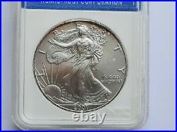2001 Silver Eagle One Dollar 1oz WTC 9/11 Ground Zero Recovery
