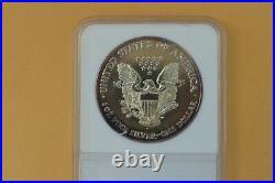 2001 Silver Eagle One Dollar 1oz WTC 9/11 Ground Zero Recovery NCM Numistrust