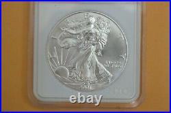 2001 Silver Eagle One Dollar 1oz WTC 9/11 Ground Zero Recovery NTC Numistrust