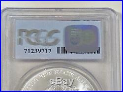 2001 Silver Eagle PCGS MS69 9/11/01 WTC Ground Zero Recovery #1 of 1000