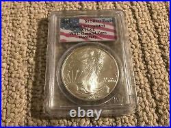 2001 WTC American Silver Eagle & 2011 9/11 10th Anniversary Silver Medal Set