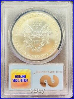 2001 WTC American Silver Eagle GEM UNCIRCULATED PCGS Ground Zero 1 oz Recovery