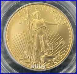 2001 WTC Ground Zero Recovery $50 Gold Eagle PCGS Gem Unc Ltd Ed 1 of 269