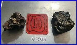 2 World Trade Center Recovered Metal Composite Pieces 9/11 Ground Zero