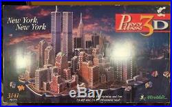 3D Puzzle New York City Twin Towers World Trade Center 3141 Pieces