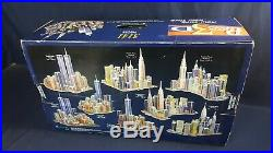 3D Puzzle New York City Twin Towers World Trade Center 3141 Pieces NEW Sealed