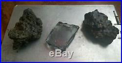 3 Small World Trade Center Recovered Pieces Glass/Metal 9/11 Ground Zero
