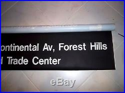 54 Nyc Subway Sign Ny E Train World Trade Center Roll Sign Forest Hills Queens