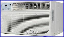 8000 BTU Through-The-Wall Air Conditioner & Heater, 115V AC Cooling Fan TTW Unit