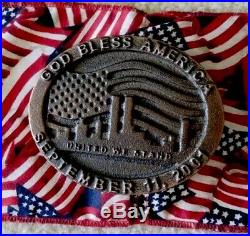 9/11/01 World Trade Center Ground Zero Recovery Steel WTC Rare Piece Of History