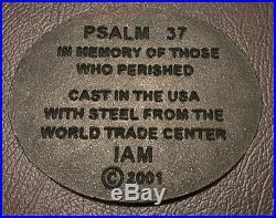 9/11 World Trade Center Steel Ground Zero Recovery WTC Rare Piece Of History