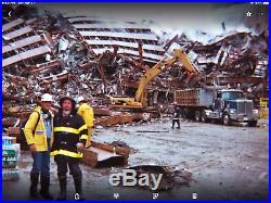 9/11 World Trade Center relic silver part