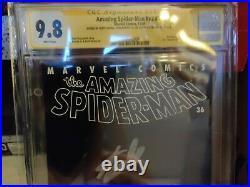 AMAZING SPIDER-MAN #36 CGC 9.8 SS SIGNED 3x STAN LEE ROMITA HANNA WTC 9/11 2001