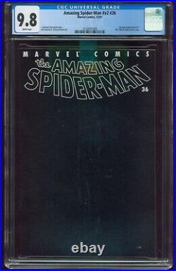 AMAZING SPIDER-MAN #36 Vol. 2 (#477) CGC 9.8 WHITE 9/11 WORLD TRADE CENTER G-553