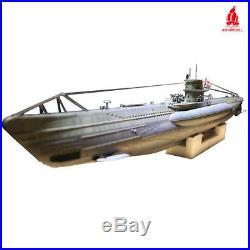 ARKMODEL 148 German U-Boat Type VIIC RC Submarine with Single Pump Tank WTC Kit