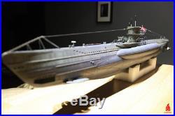 ARKMODEL VIIC Kit 1/48 German U-Boat RC Submarine Include Single Piston Tank WTC