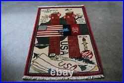 Afghan war rug world trade center(war against terrorism)