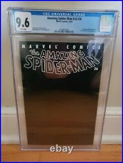 Amazing Spider-Man (1999) #36 CGC NM+ 9.6 9/11 World Trade Center Black Cover