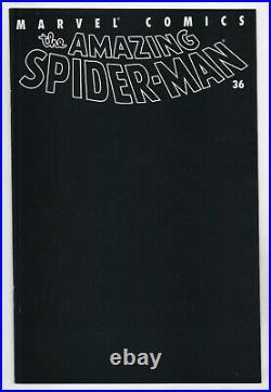 Amazing Spider-Man 36 477 2nd Series Marvel 2001 NM Black 9/11 Sept 11th WTC