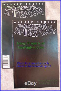 Amazing Spider-Man #36 9/11 WTC Tribute Issue KEY ISSUE Excellent NEWSSTAND Copy