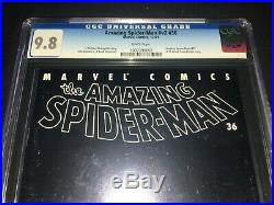 Amazing Spider-Man #36 CGC 9.8 9/11 World Trade Center Story 2001