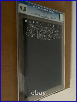 Amazing Spider-Man #36 V2 CGC 9.8 Withpgs 9/11 WTC + Moment of Silence 2001