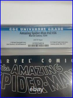 Amazing Spider-Man #477 V2 #36 CGC 9.6 Marvel 2001 9/11 World Trade Center
