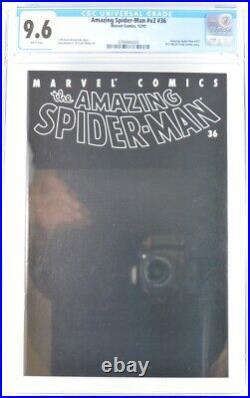 Amazing Spider-Man V2 #36 CGC 9.6 911 World Trade Center Story