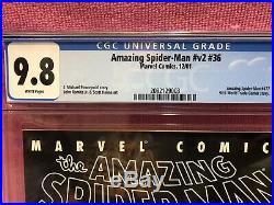 Amazing Spider Man V2 #36 CGC 9.8 Marvel Comics 9/11 World Trade Center Story