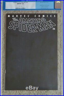 Amazing Spider-Man Vol. 2 #36 477 CGC 9.8 WHITE PAGES! World Trade WTC story #v2