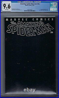 Amazing Spider-Man Vol # 2 Issue # 36 CGC 9.6 Marvel WTC Memorial Issue