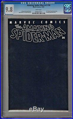 Amazing Spider-Man v2 #36 #477 CGC 9.8 White World Trade Center story