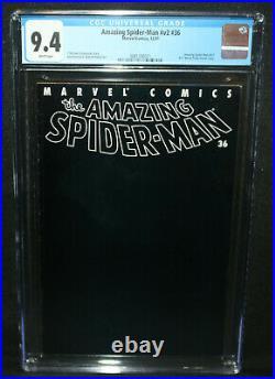 Amazing Spider-Man #v2 #36 9/11 World Trade Center Story CGC 9.4 2001