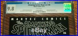 Amazing Spider-man #36 CGC 9.8 World Trade Center 9/11 Edition 2001