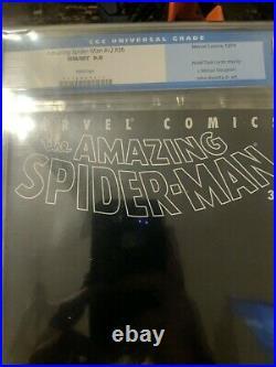 Amazing Spider-man V2 #36 Cgc 9.8 Twin Towers 911 World Trade Center