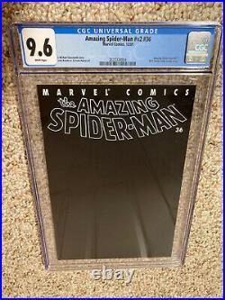 Amazing Spiderman V2 36 Cgc 9.6 12/01 World Trade Center Story 9/11
