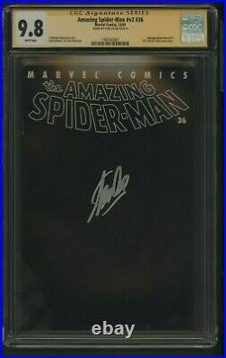 Amazing Spiderman V2 36 Cgc 9.8 12/01 Ss Stan Lee 9/11 World Trade Center Story