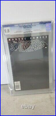 Amazing Spiderman V2 #36 Cgc 9.8 White Pages! Upc Limited 9/11 Wtc Story
