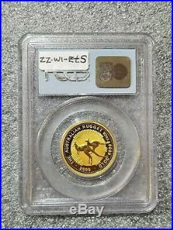 Australia 1/2 OZ Gold Kangaroo Gem Unc 9-11-01 WTC Ground Zero Recovery PCGS
