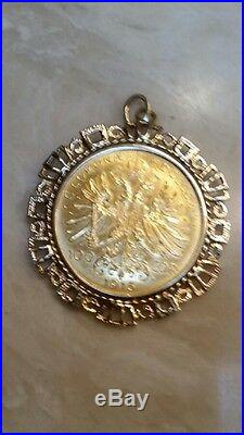 Austria 1915 Gold 100 Corona WTC Recovery PCGS Gem Unc